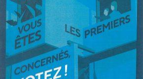 VOTEZ AUX ELECTIONS DU CONSEIL D'ADMINISTRATION DES HLM POUR LES LISTES UFC QUE CHOISIR